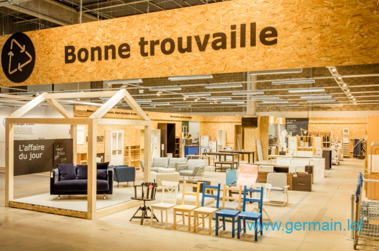 "Ikea - rayon ""Bonne trouvaille"""